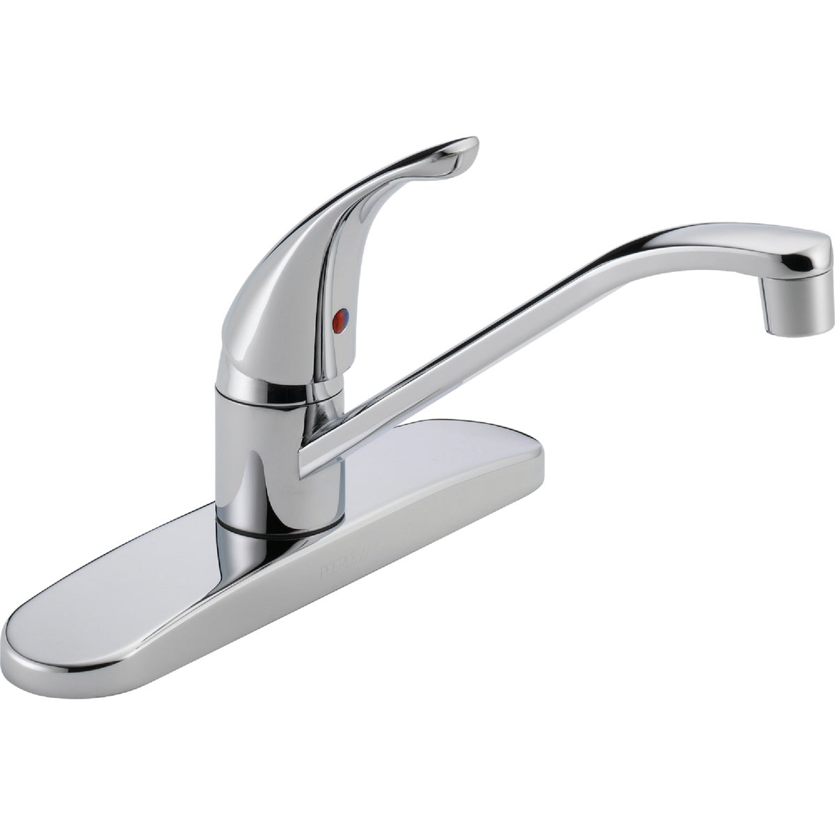 1H CHROME KITCHEN FAUCET - P110LF by Delta Faucet Co