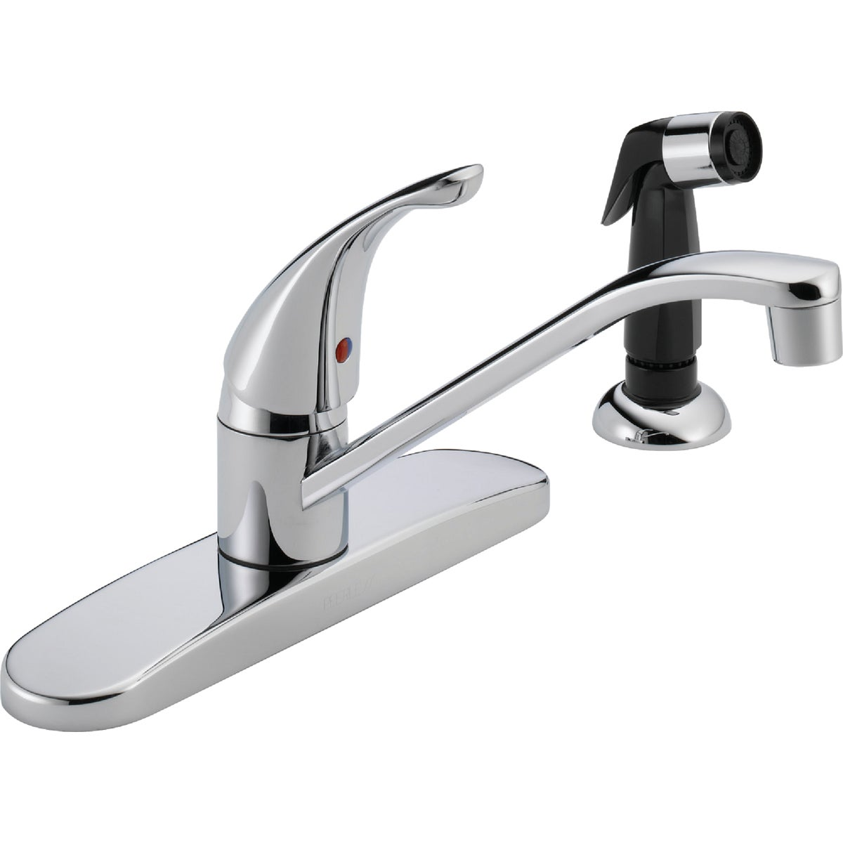 Peerless P15LF Classic Single Handle Kitchen Faucet, Chrome
