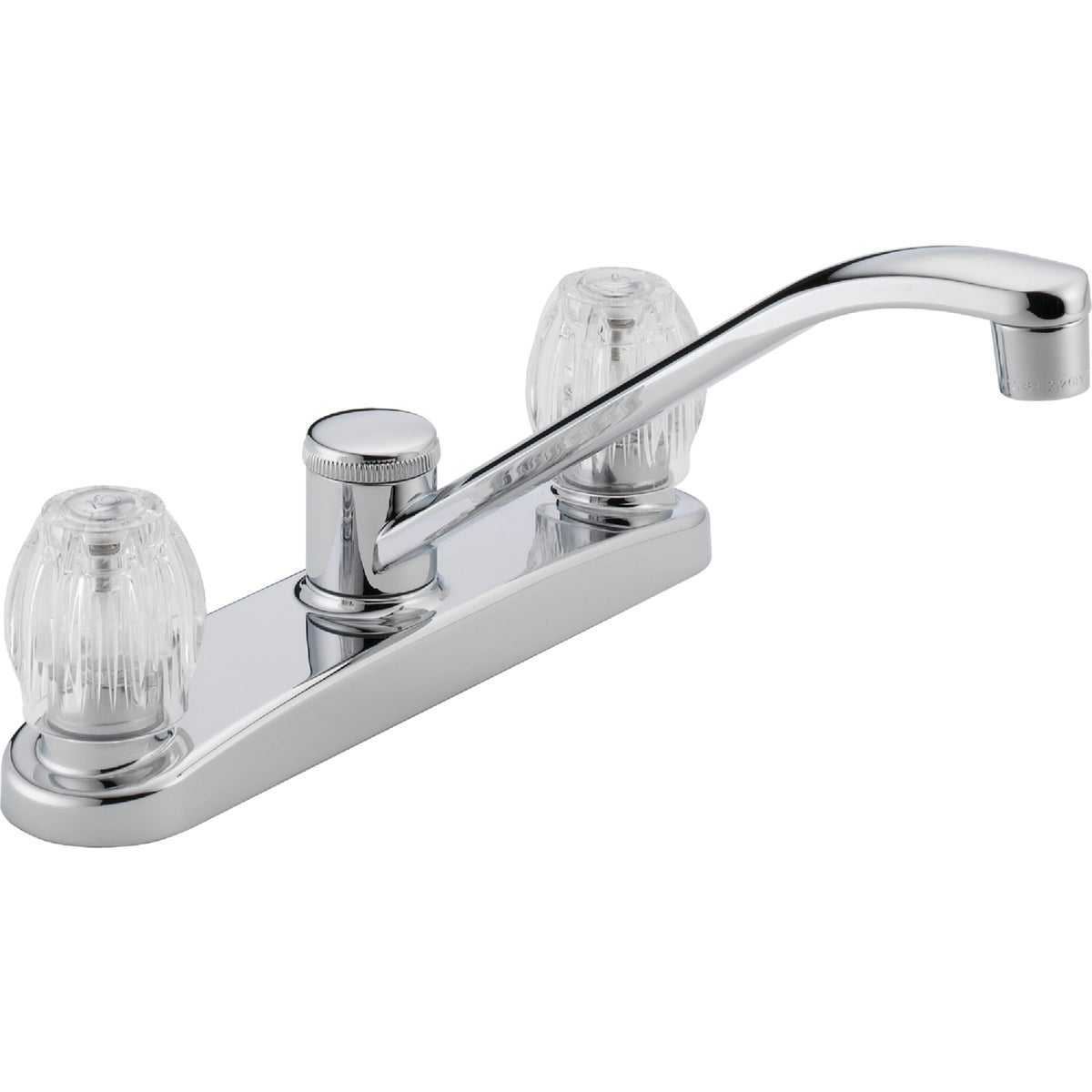 2H CHROME KITCHEN FAUCET - P220LF by Delta Faucet Co
