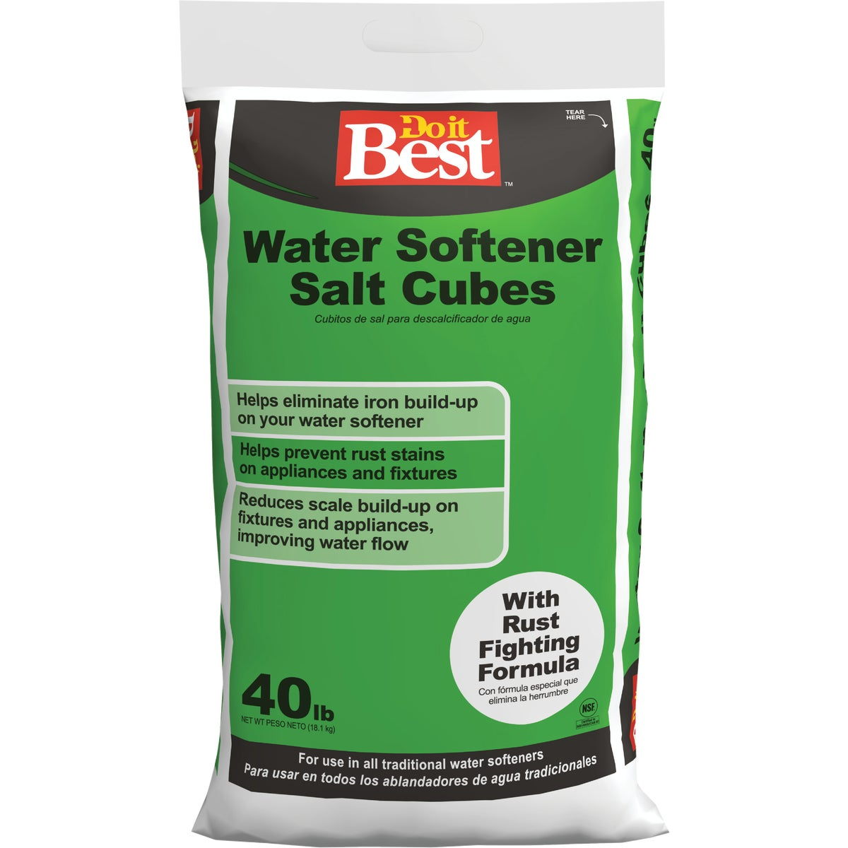 40LB RED SOFTENER SALT - 32913 by North American Salt