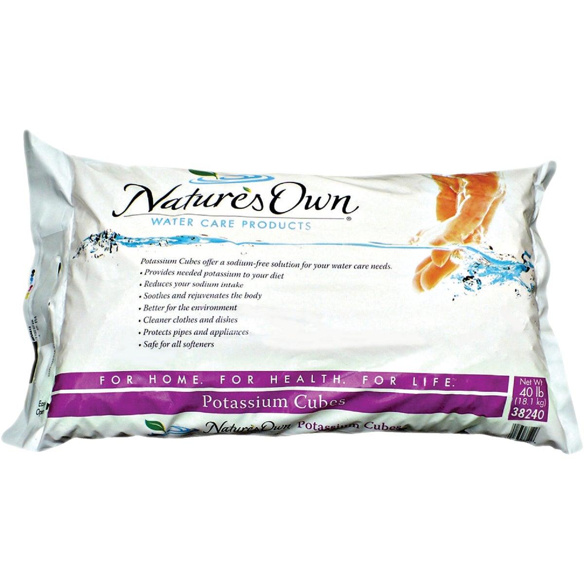 North American Salt 40LB POTASSIUM SOFTENER 38240