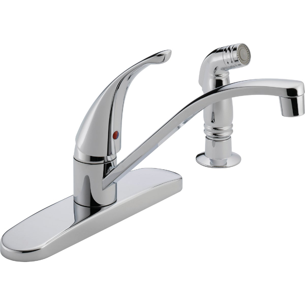 Peerless Choice P188500LF Single Handle Kitchen Faucet with Side Spray