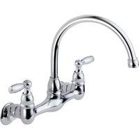 Delta Faucet 2H CHR WM KITCHEN FAUCET P99305LF