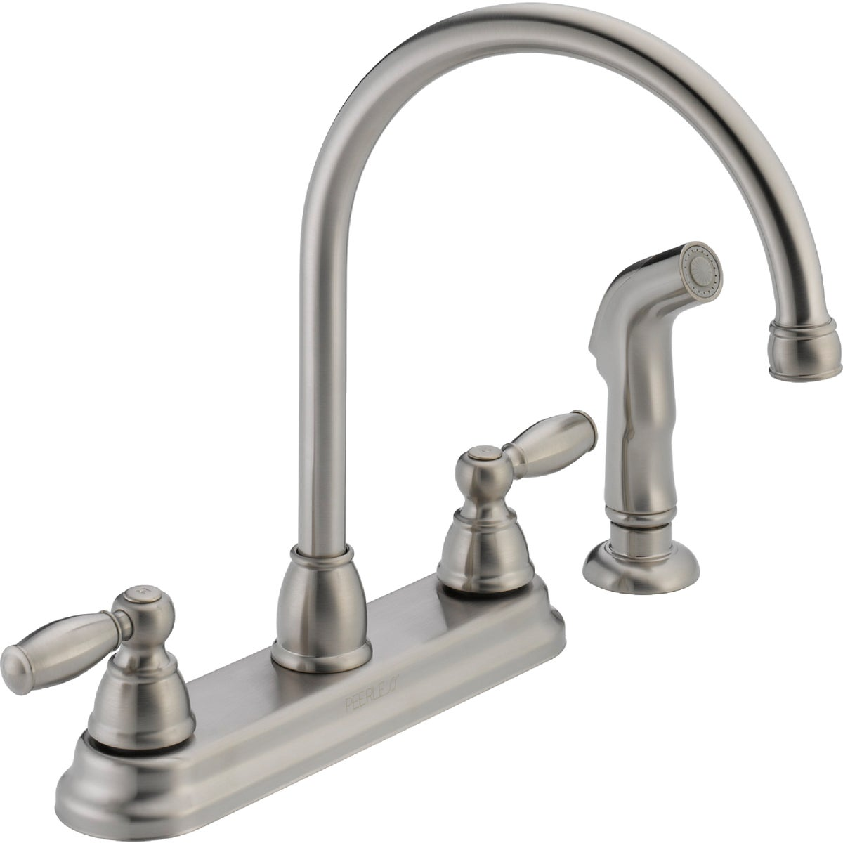2H SS KIT FAUCET W/SPRY - P299575LF-SS by Delta Faucet Co