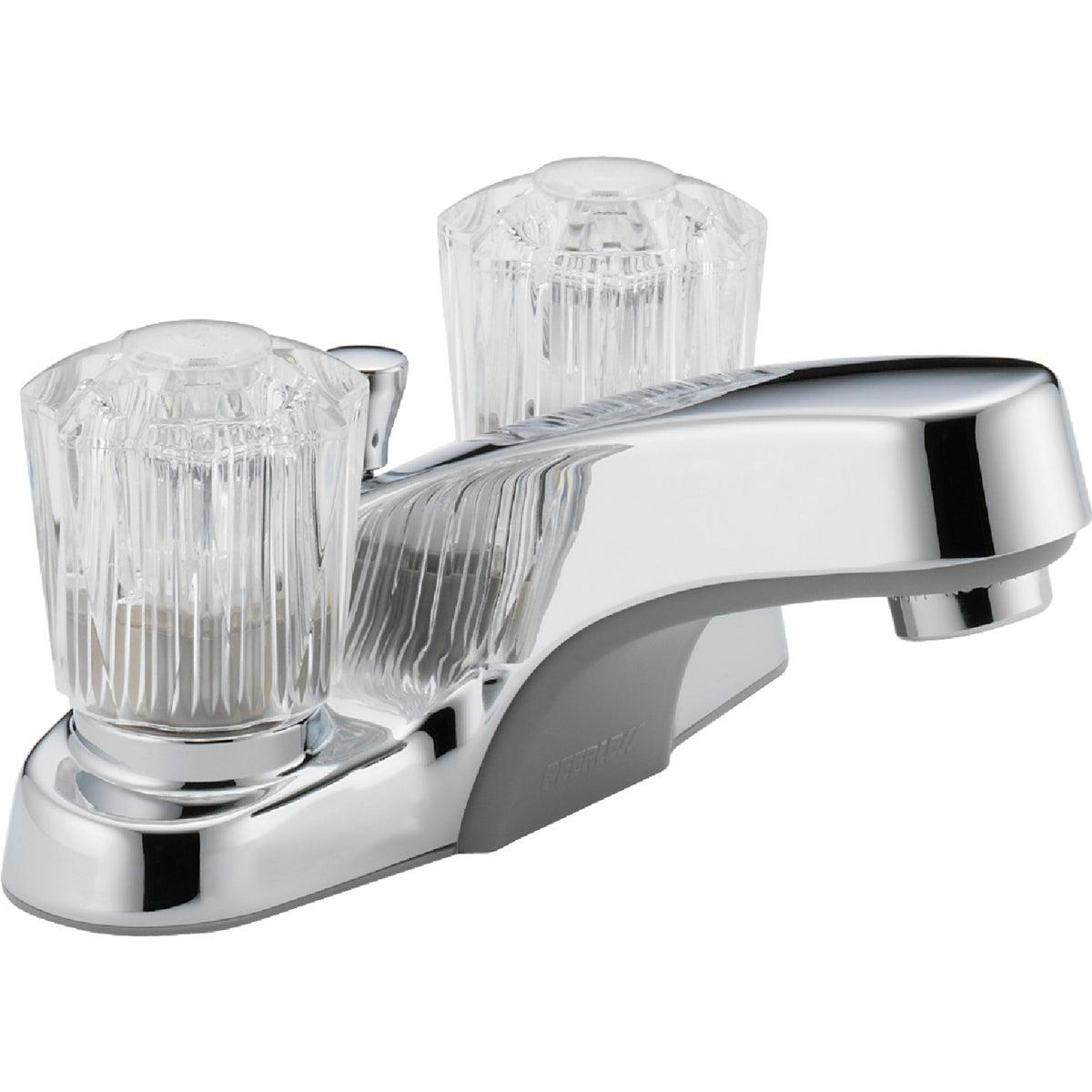 Peerless P245LF Classic Two Handle Lavatory Faucet, Chrome