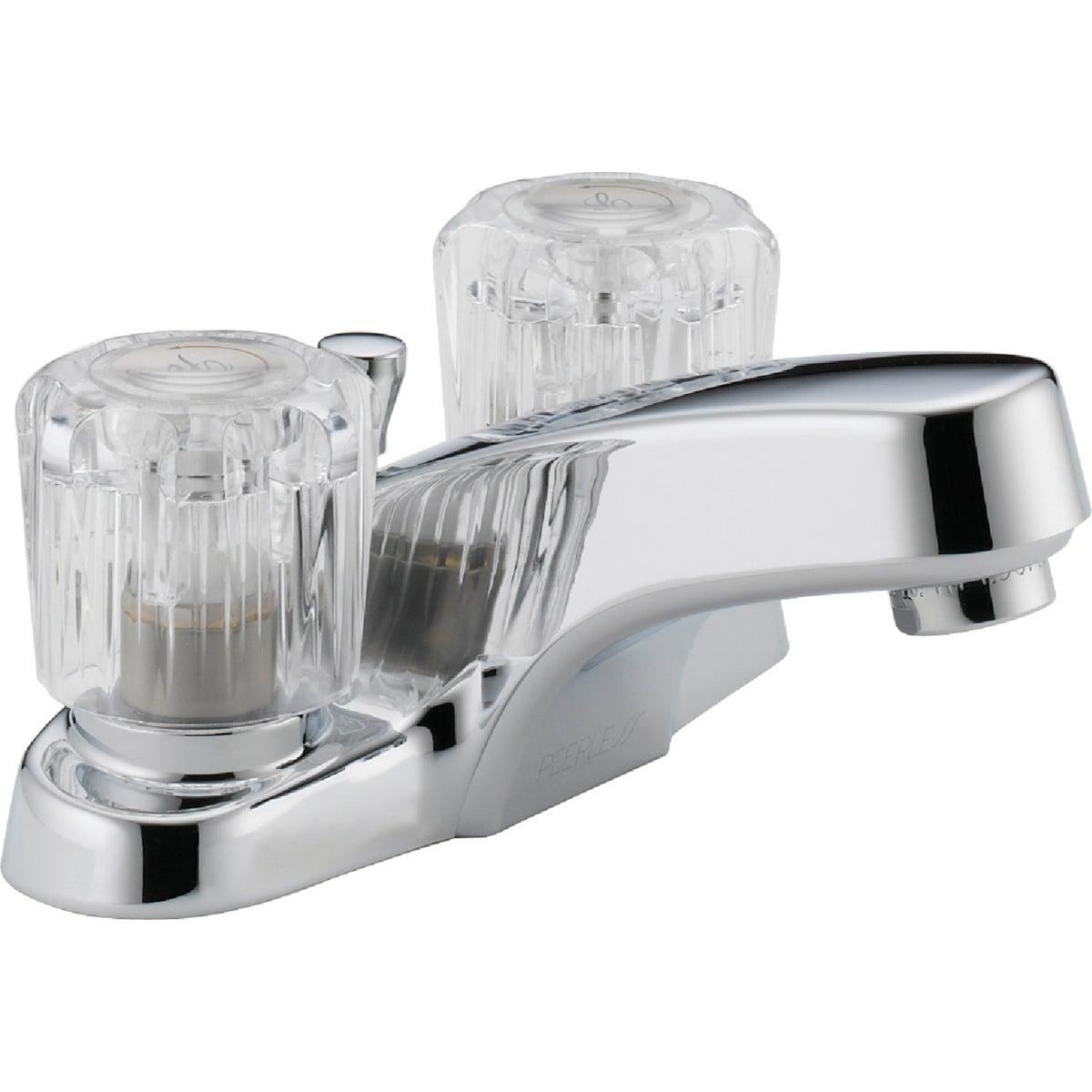 Peerless P299621LF Choice Two Handle Lavatory Faucet, Chrome