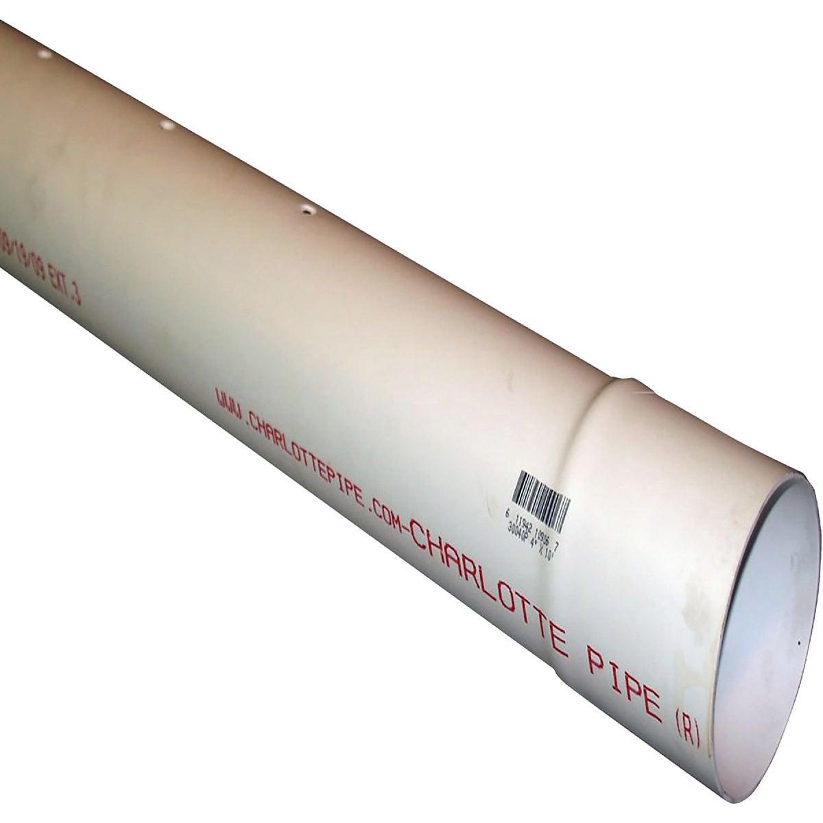 "3""X10' D&S PERF PVC PIPE"