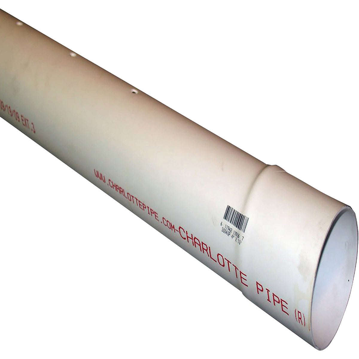 "3""X10' D&S PERF PVC PIPE - 40031 by Genova Inc"