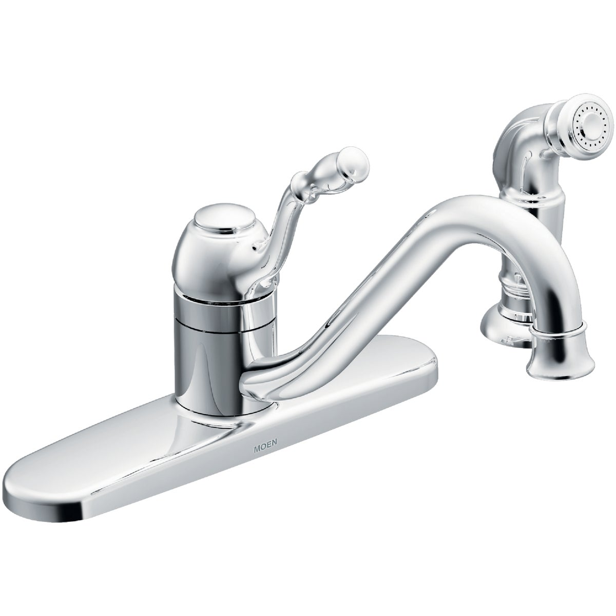 1H CH KIT FAUCET W/SPRY - CA87009 by Moen Inc