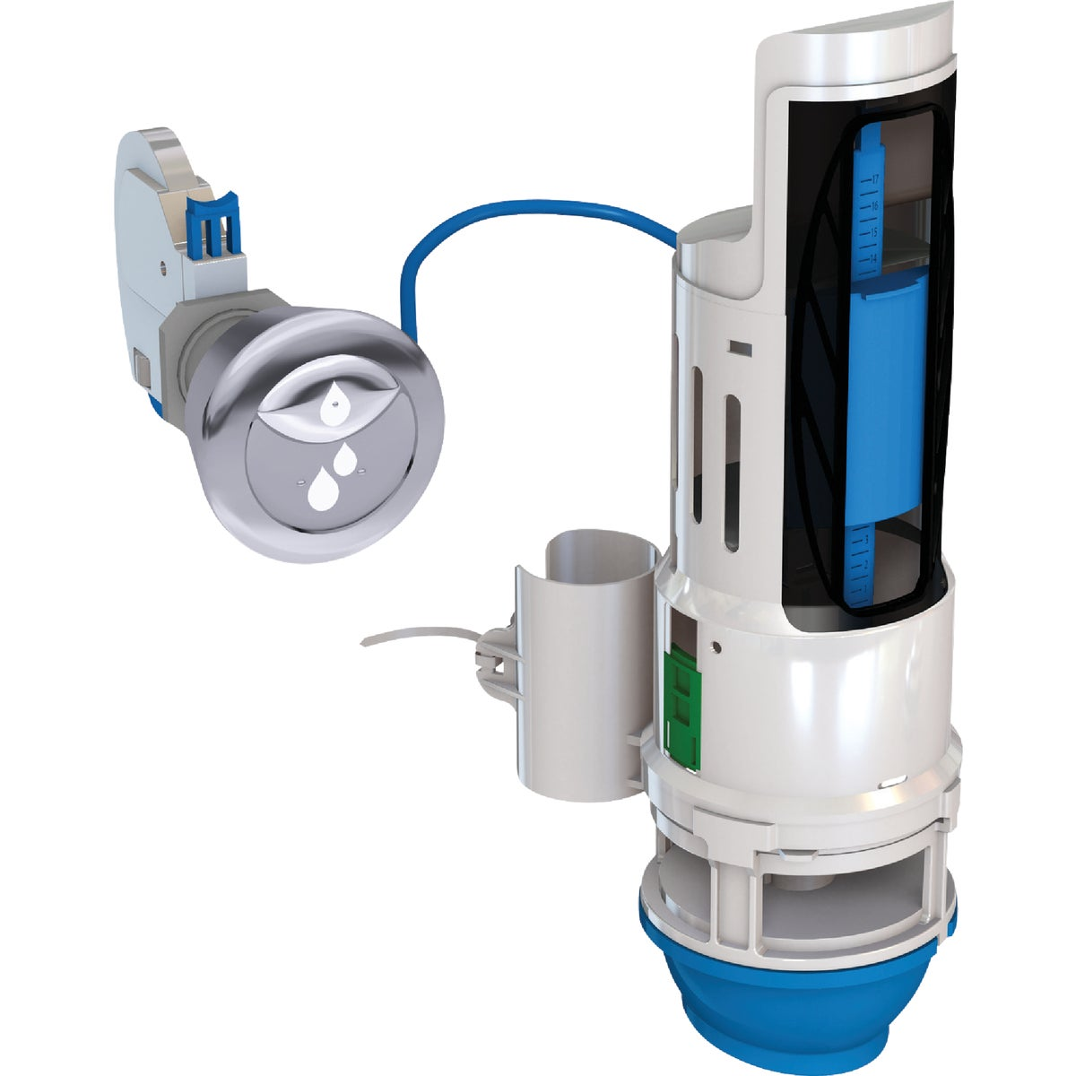 DUAL FLUSH CONVERTER - HYR270 by Danco Perfect Match