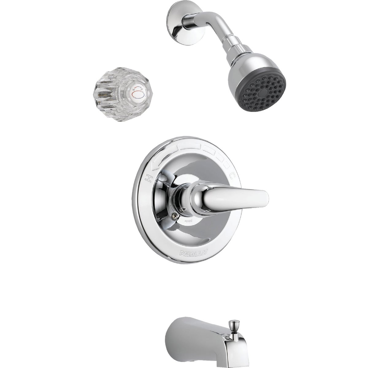 CHROME TUB/SHOWER FAUCET - P188720 by Delta Faucet Co