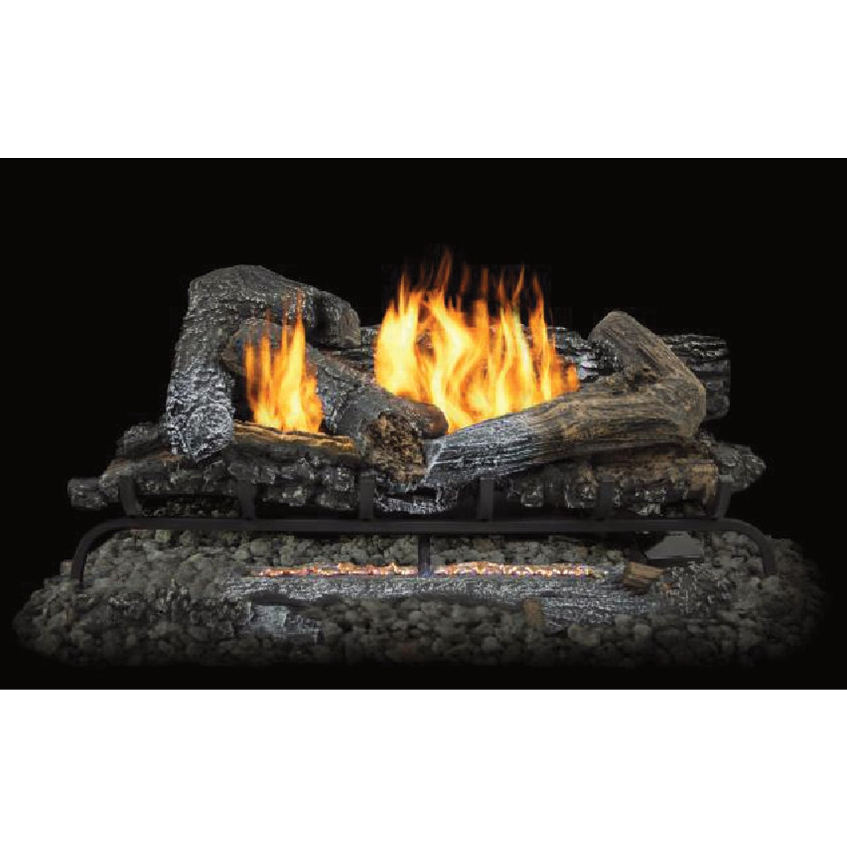 "24"" 32K DF W/REMOTE LOGS - GLD2460R by World Marketing"