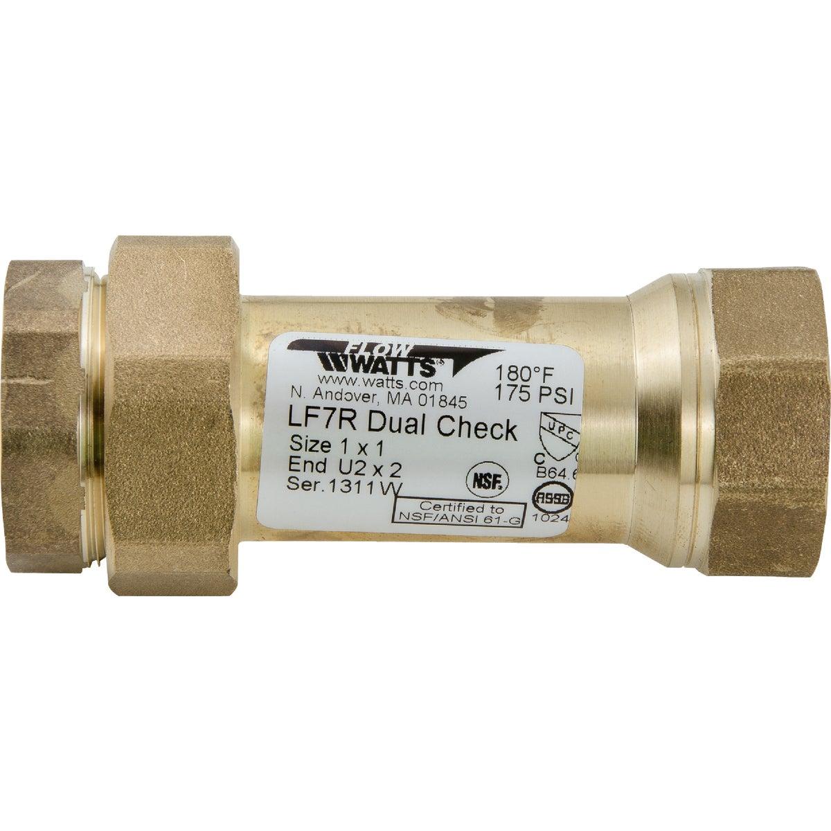 "1"" CHECK VALVE - LF7RU2-2 1 by Watts Regulator Co"