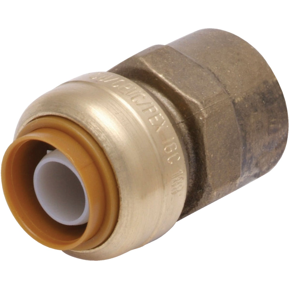 "1/2"" FIP PUSH ADAPTER - U072LFA by Cash Acme"