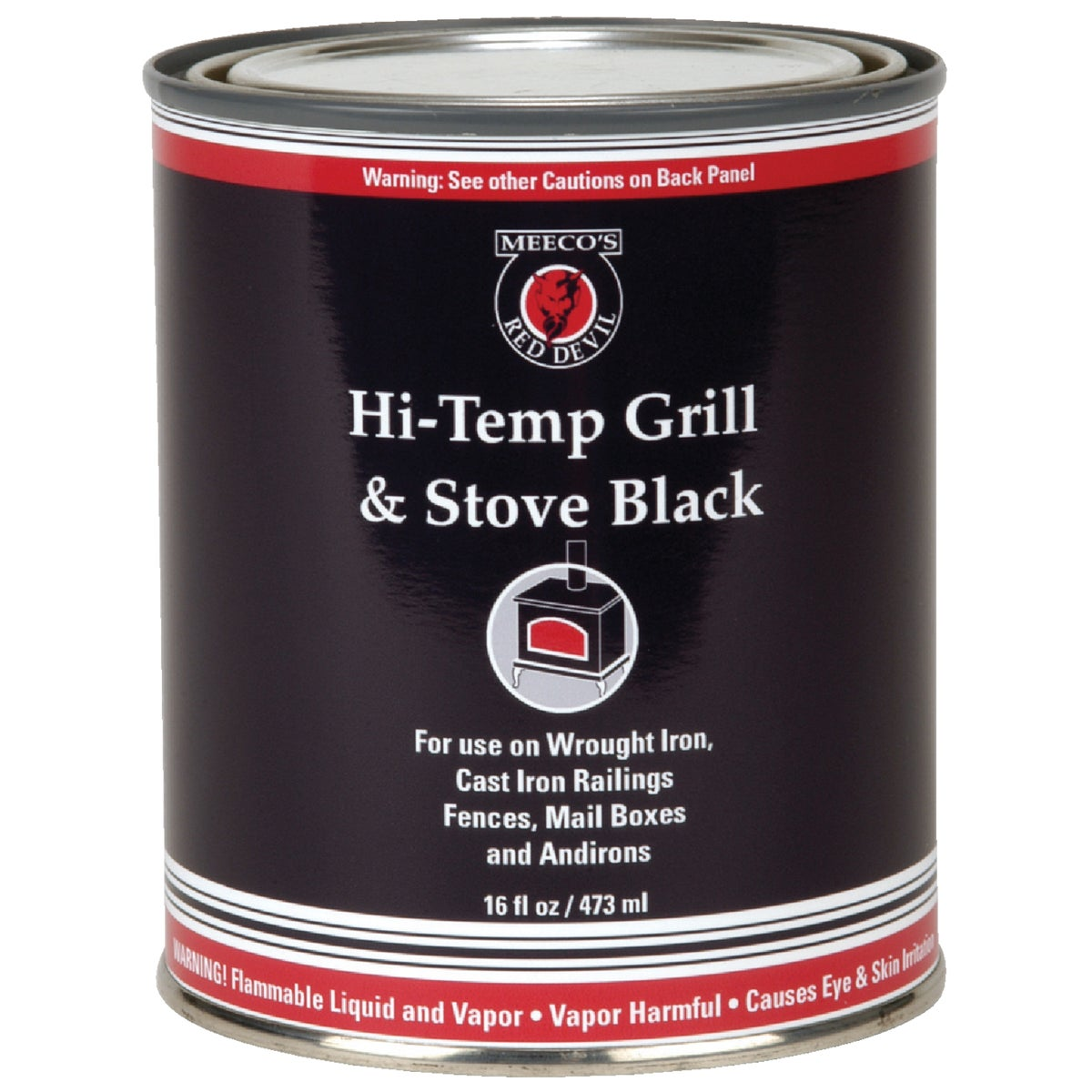 QT BLACK STOVE PAINT - 403 by Meeco Mfg
