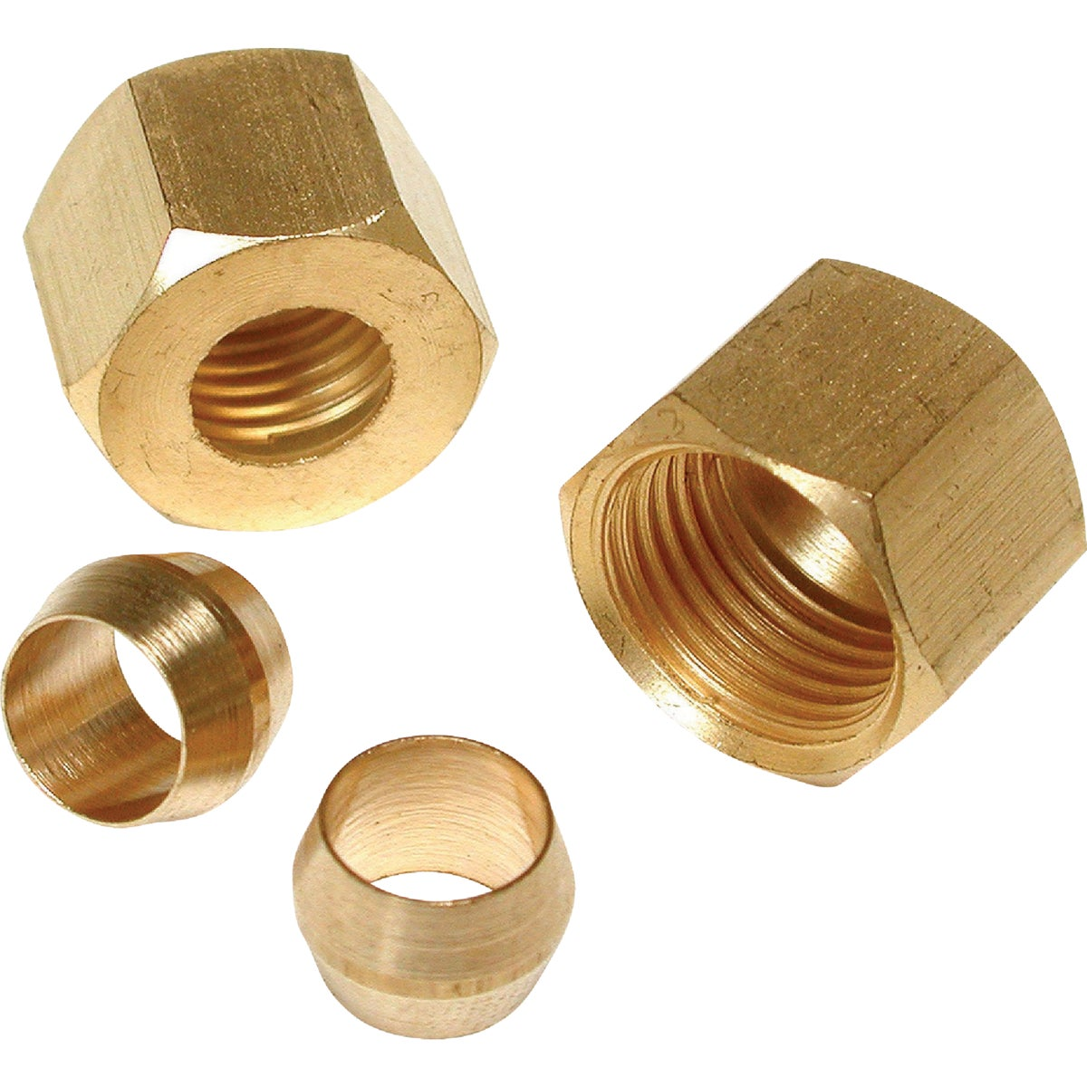 """2PK 1/4"""" COMP SLEEVE&NUT - 93116 by Dial Manufacturing"""