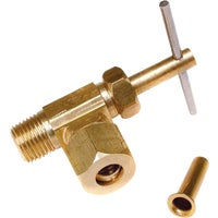 Dial Manufacturing Low Lead Brass Angle Valve 1/4X1/8 ANG NEEDLE VALVE