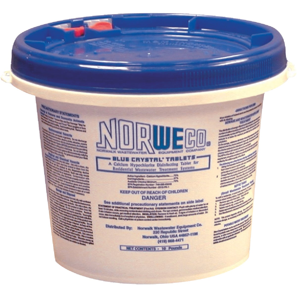 10# SEWER L BLUE CRYSTAL - FSB50009 by Norweco Inc
