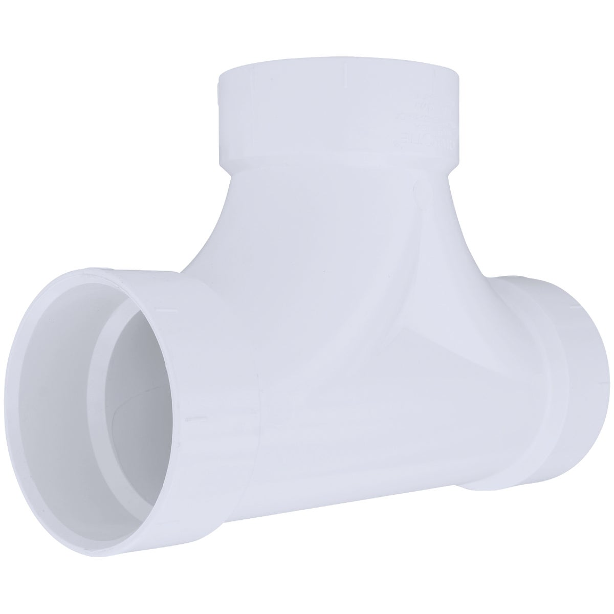 "4"" 2-WAY CLEANOUT TEE - 71644 by Genova Inc  Pvc Dwv"