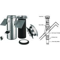 SELKIRK Sure-Temp Pitched Ceiling Chimney Support Kit, 206621