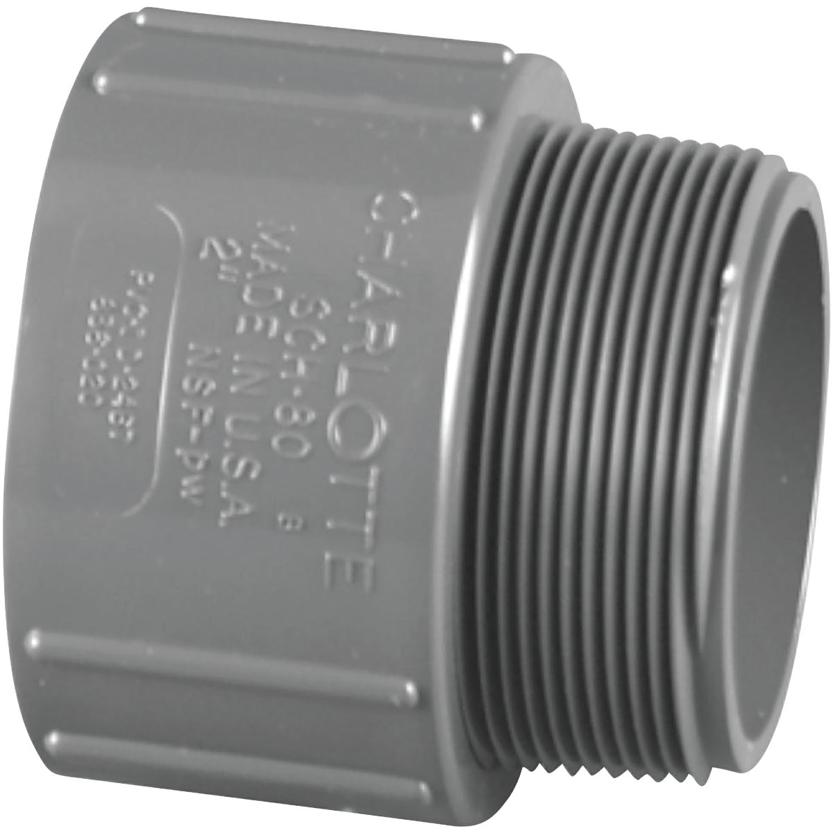 1-1/2 SCH80 MALE ADAPTER - 304158 by Genova Inc