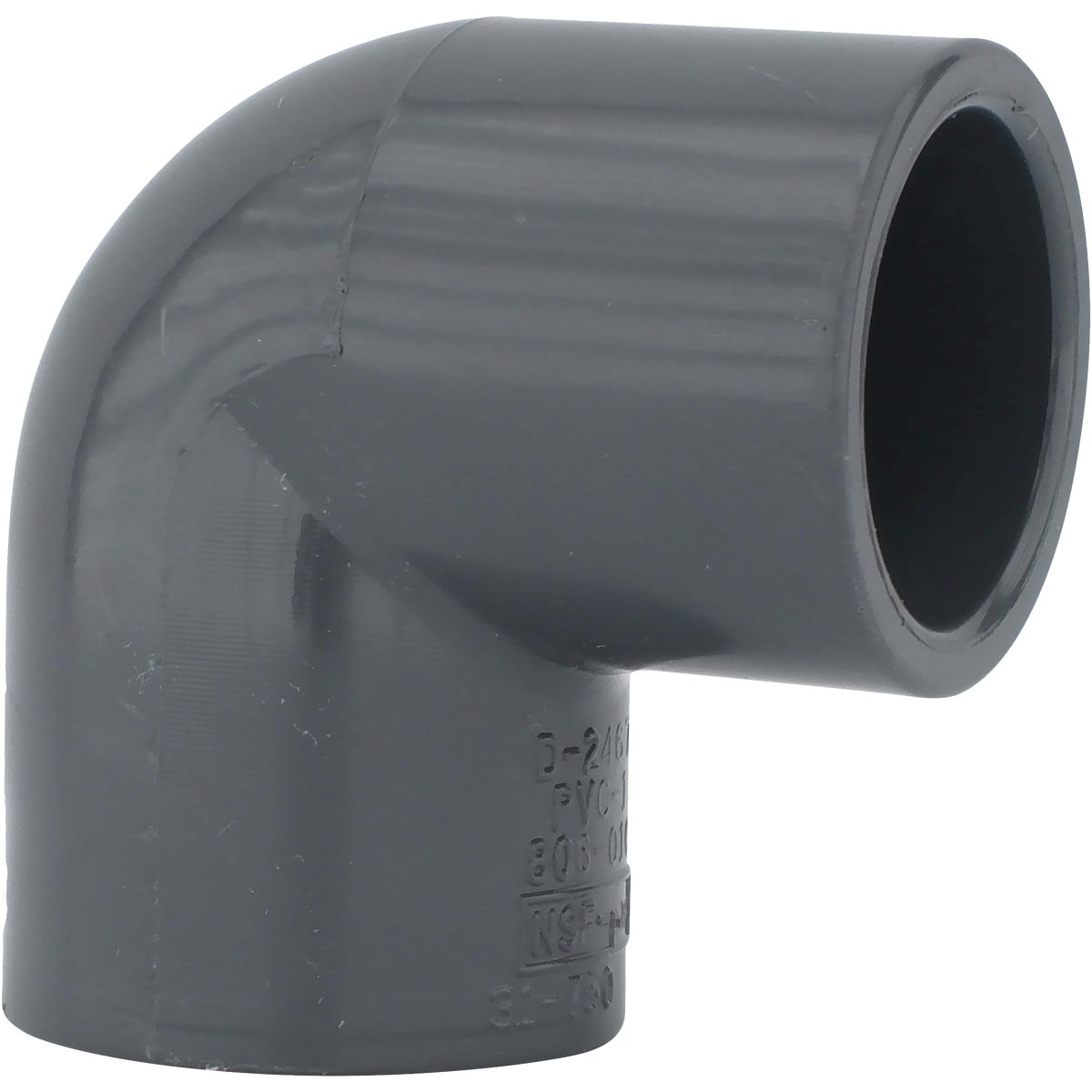"1-1/2"" 90D S80 PVC ELBOW - 307158 by Genova Inc"