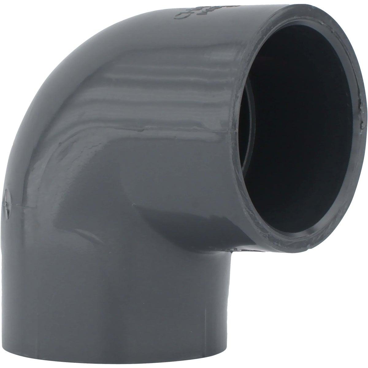 """2"""" 90D SCH80 PVC ELBOW"""