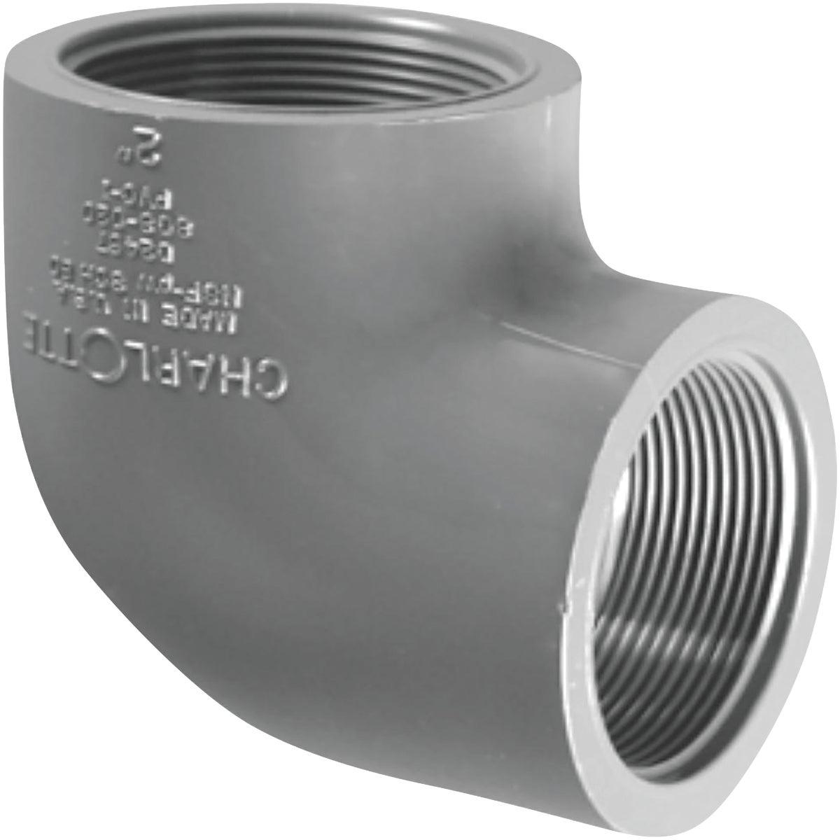 ELL SCH80 PVC 90DEG 1 IN FIP