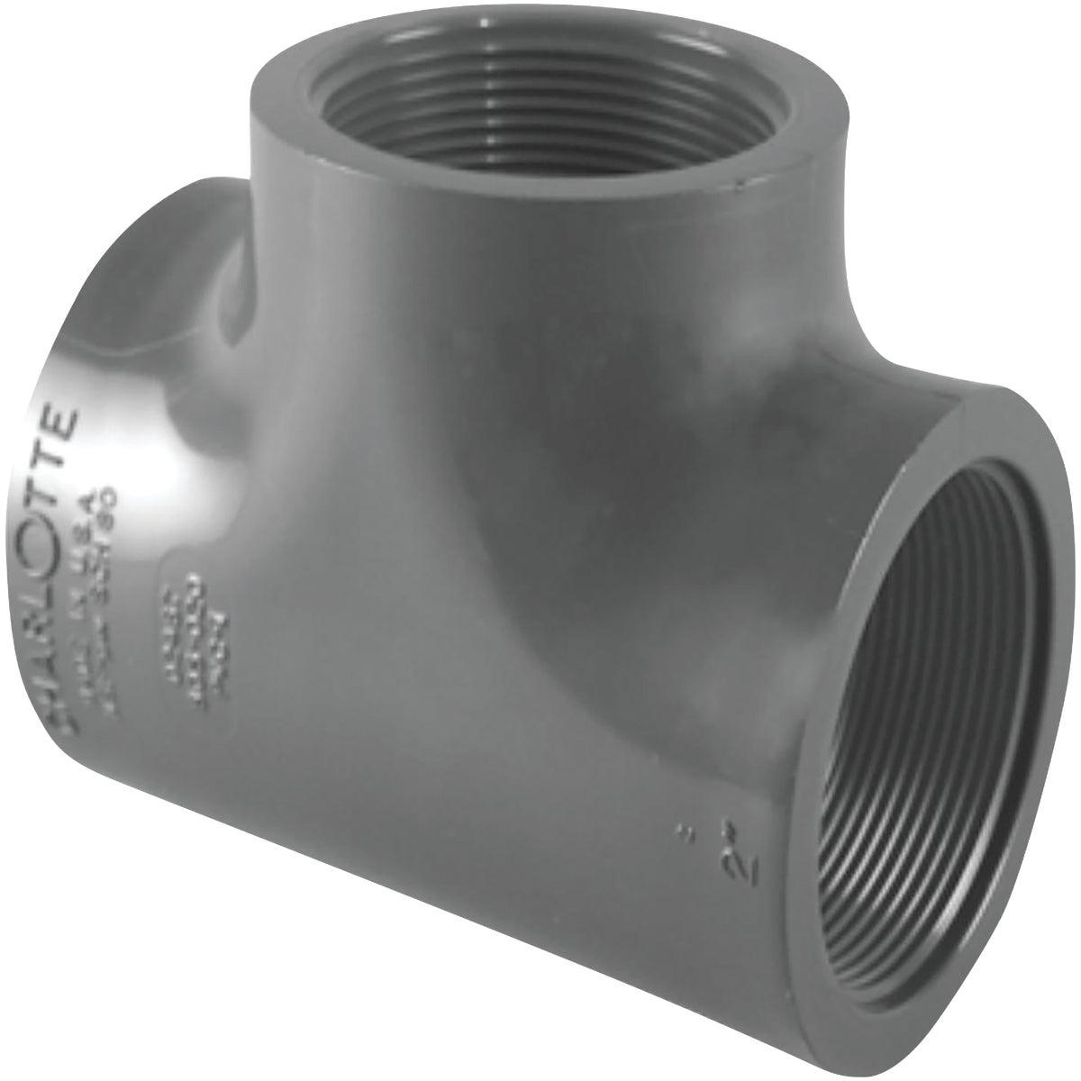 "1/2"" FXFXF SCH80 PVC TEE - 354558 by Genova Inc"