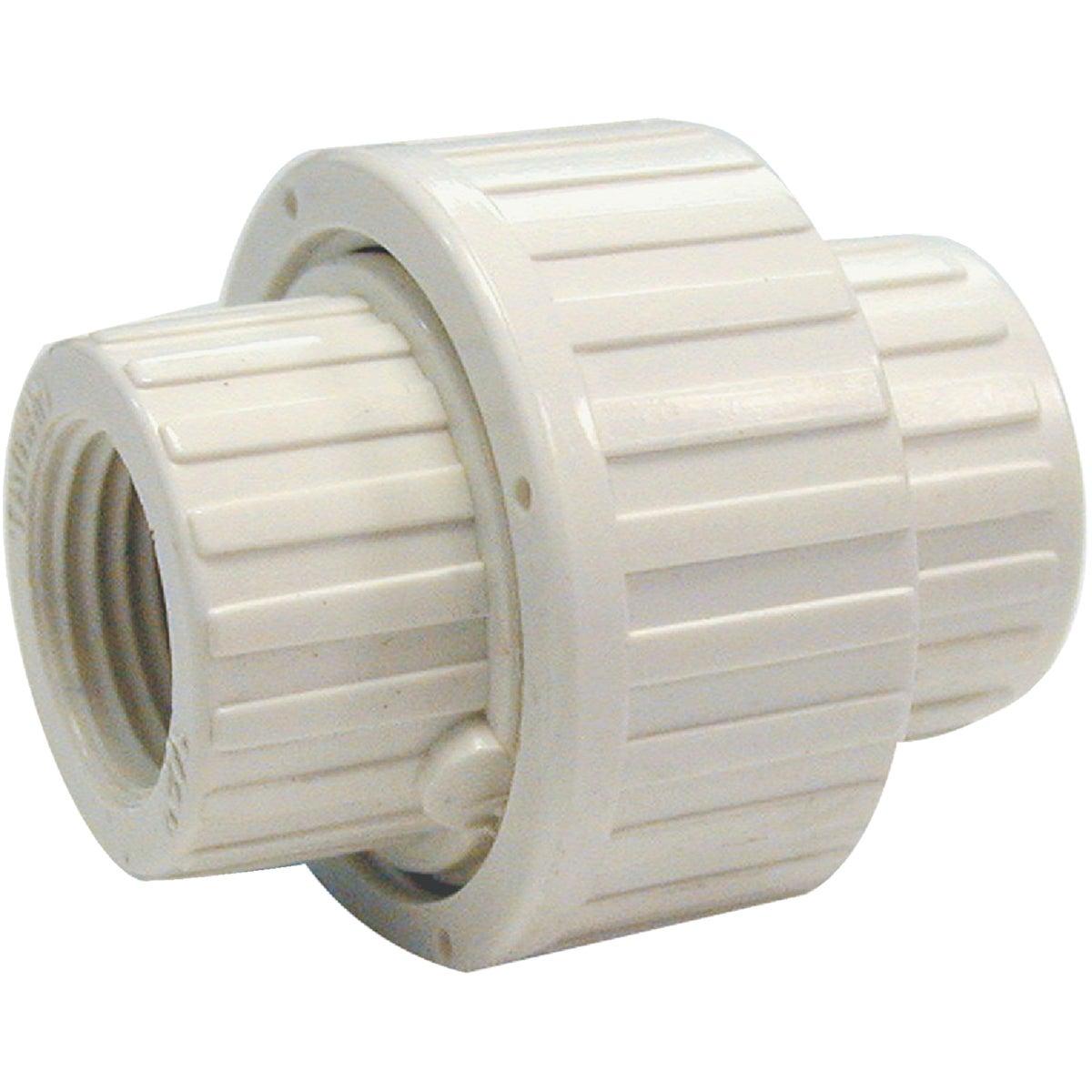 """WHT 3/4"""" FIP PVC UNION"""