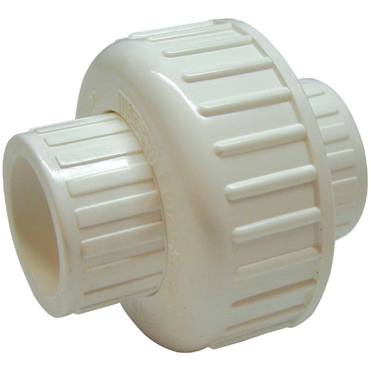 """WHT 1-1/2"""" SXS PVC UNION"""
