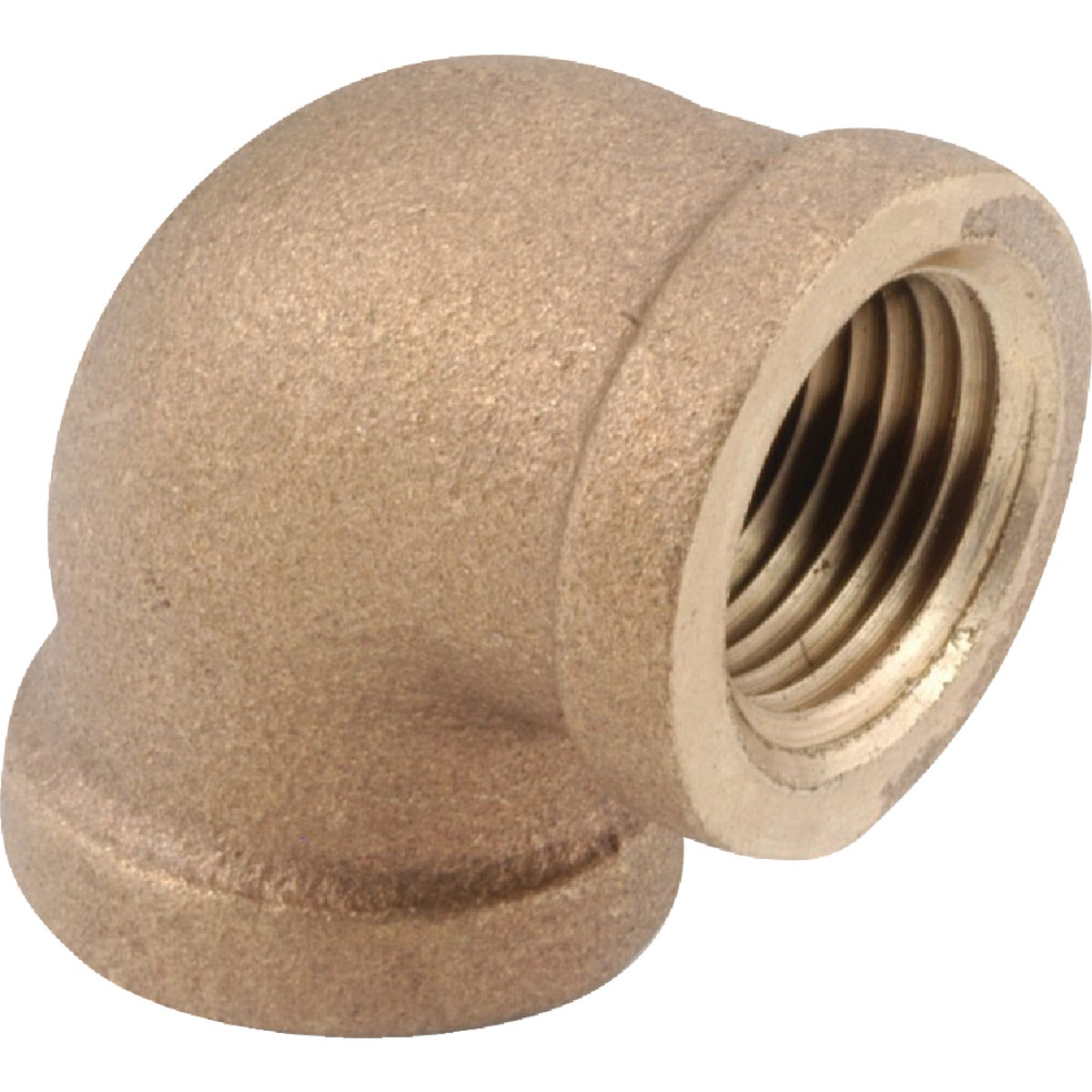 "1/4"" 90D BRASS ELBOW - 738100-04 by Anderson Metals Corp"