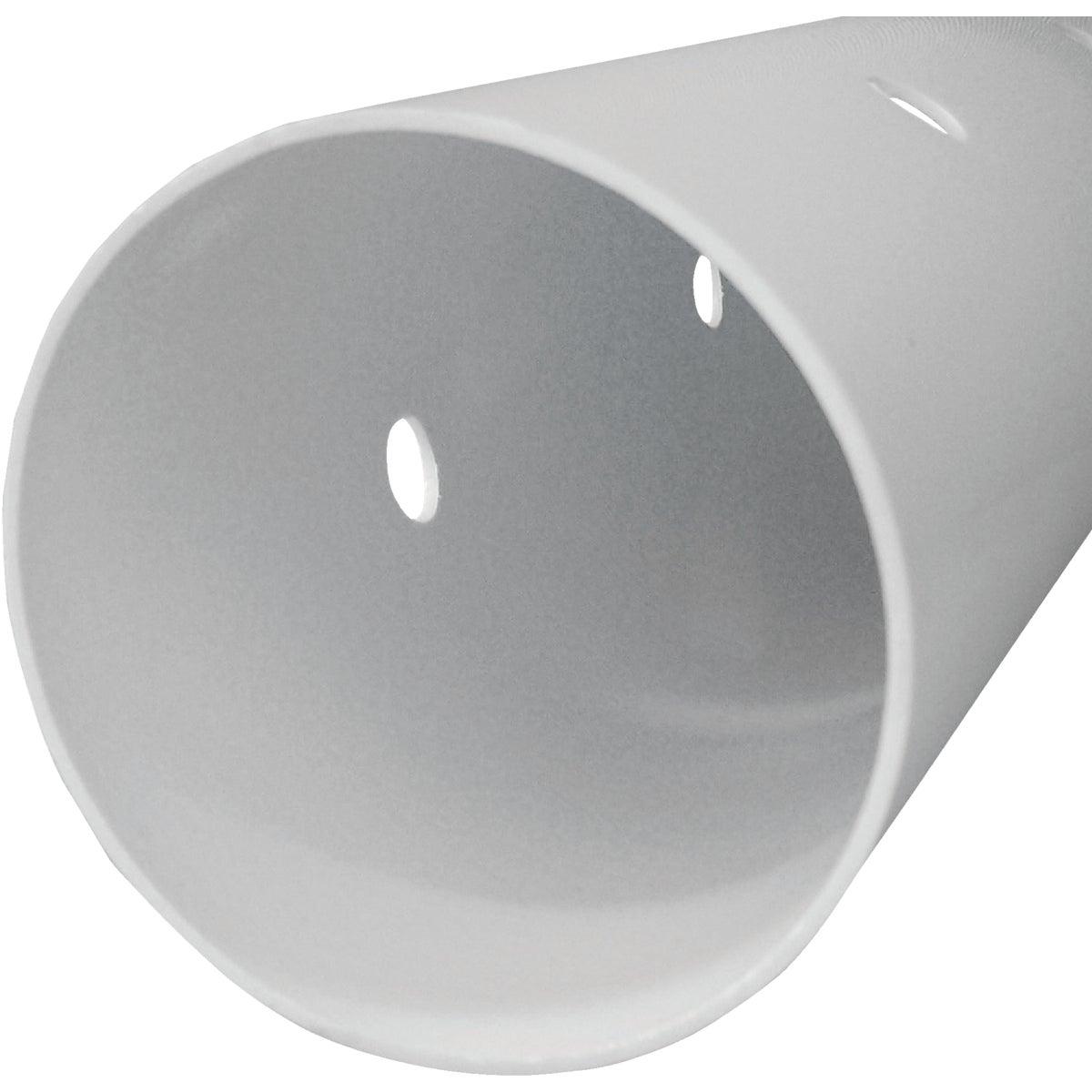 "4""X10'D&S PERF3 PVC PIPE"