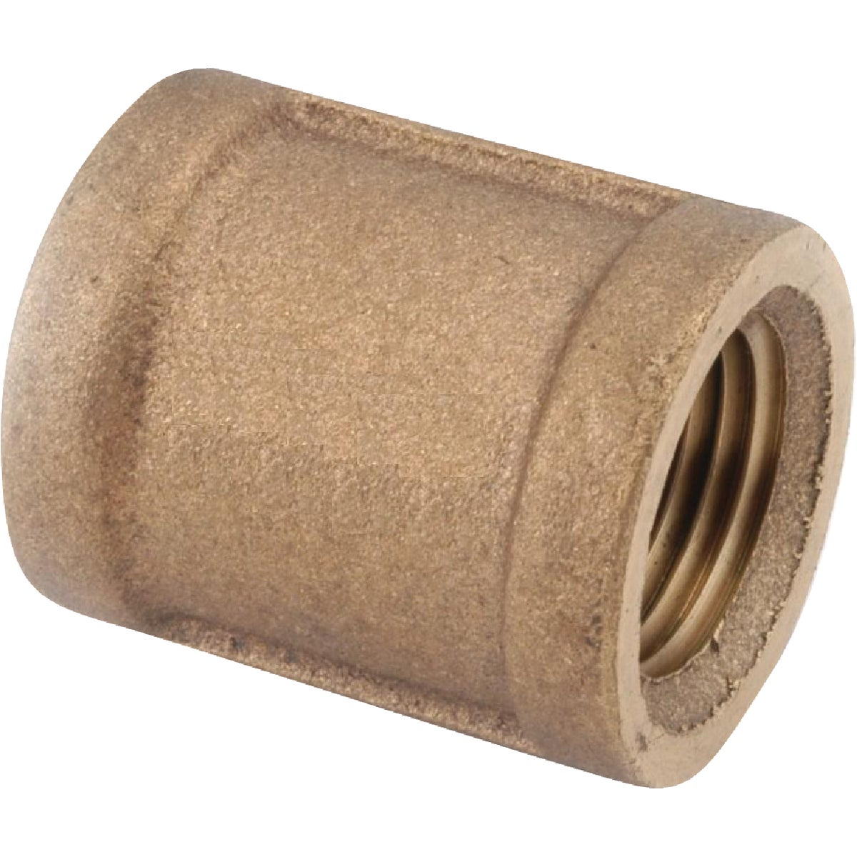 "1/4"" BRASS COUPLING - 738103-04 by Anderson Metals Corp"