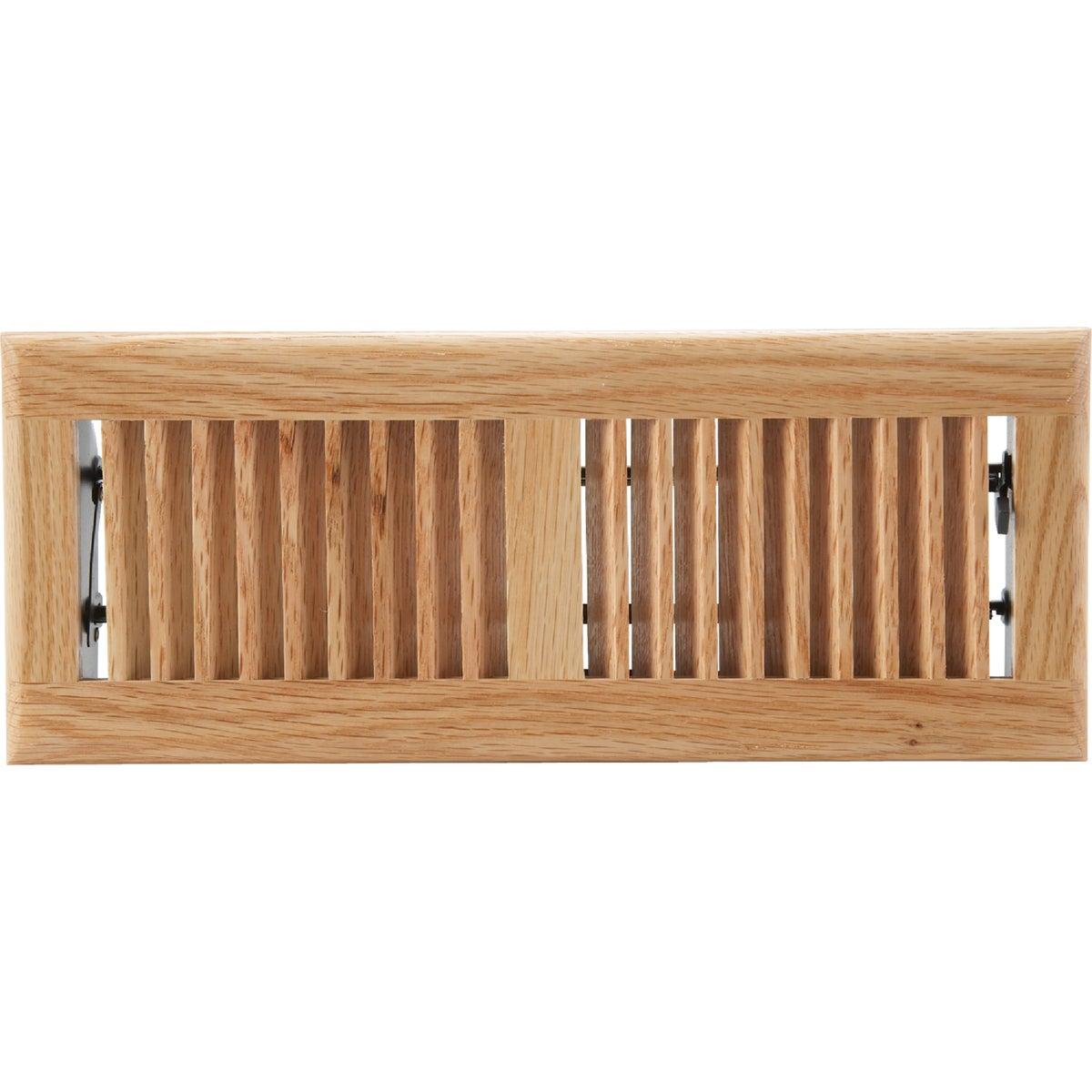 Home Impressions Contemporary Oak Floor Register, WF0412L0