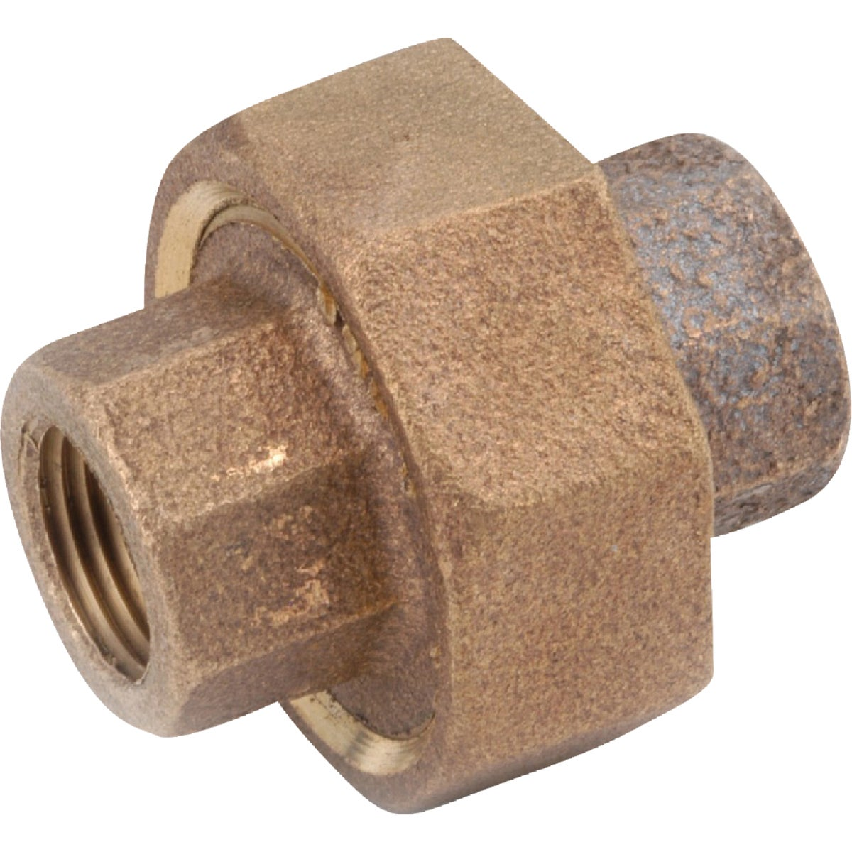 "1"" BRASS UNION - 738104-16 by Anderson Metals Corp"