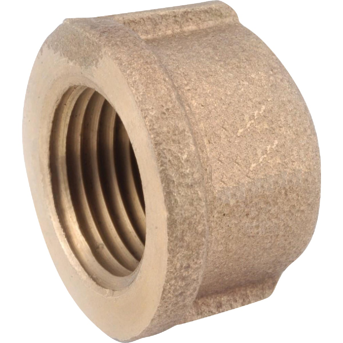 "3/8"" BRASS CAP - 738108-06 by Anderson Metals Corp"
