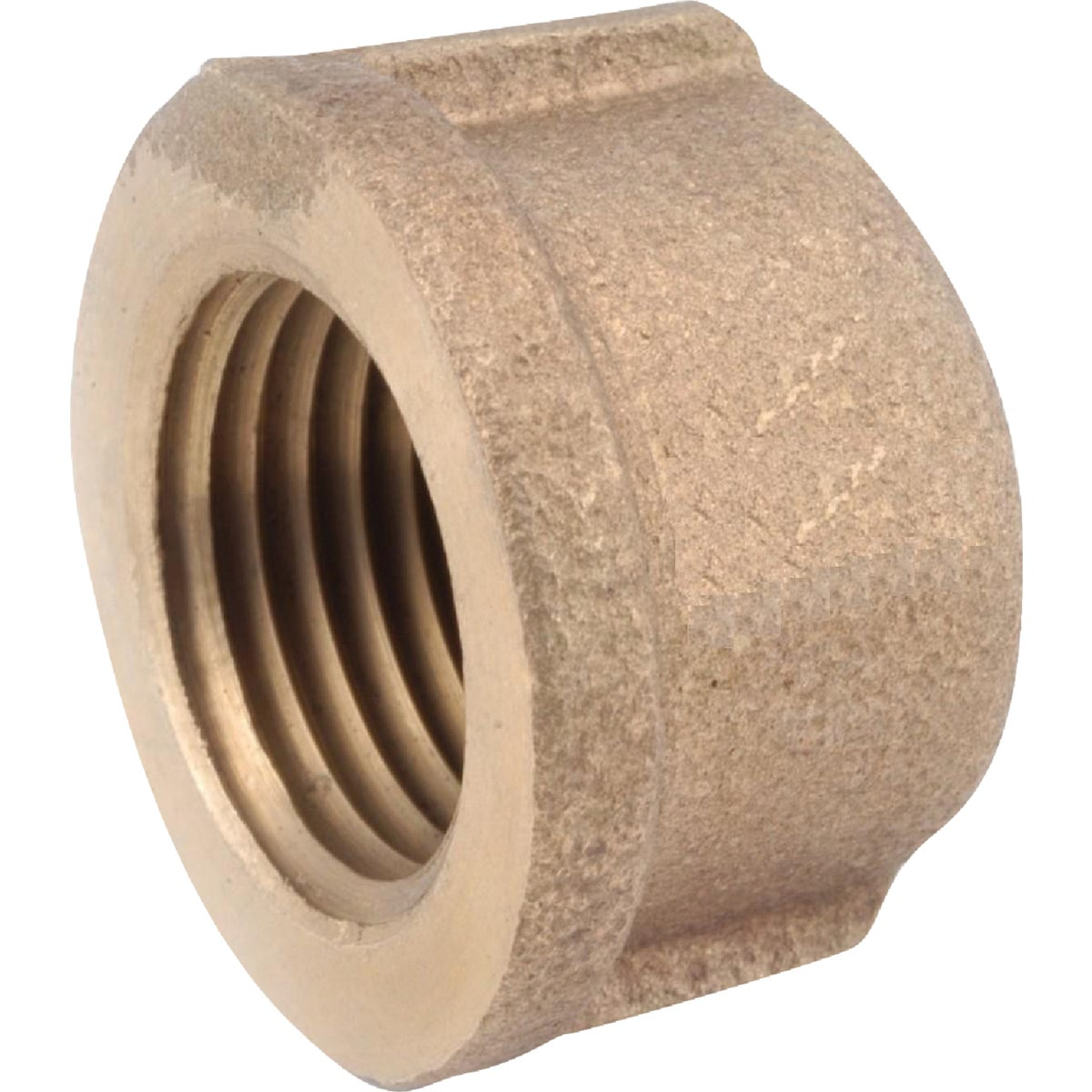 "1"" BRASS CAP - 738108-16 by Anderson Metals Corp"