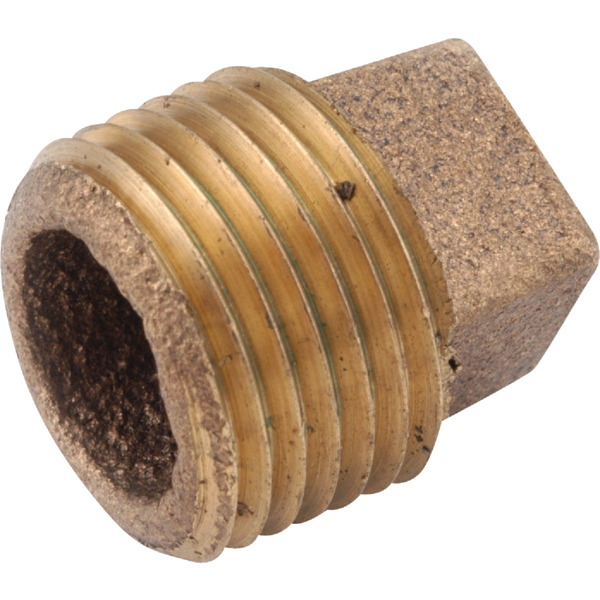"1"" BRASS PLUG - 738109-16 by Anderson Metals Corp"