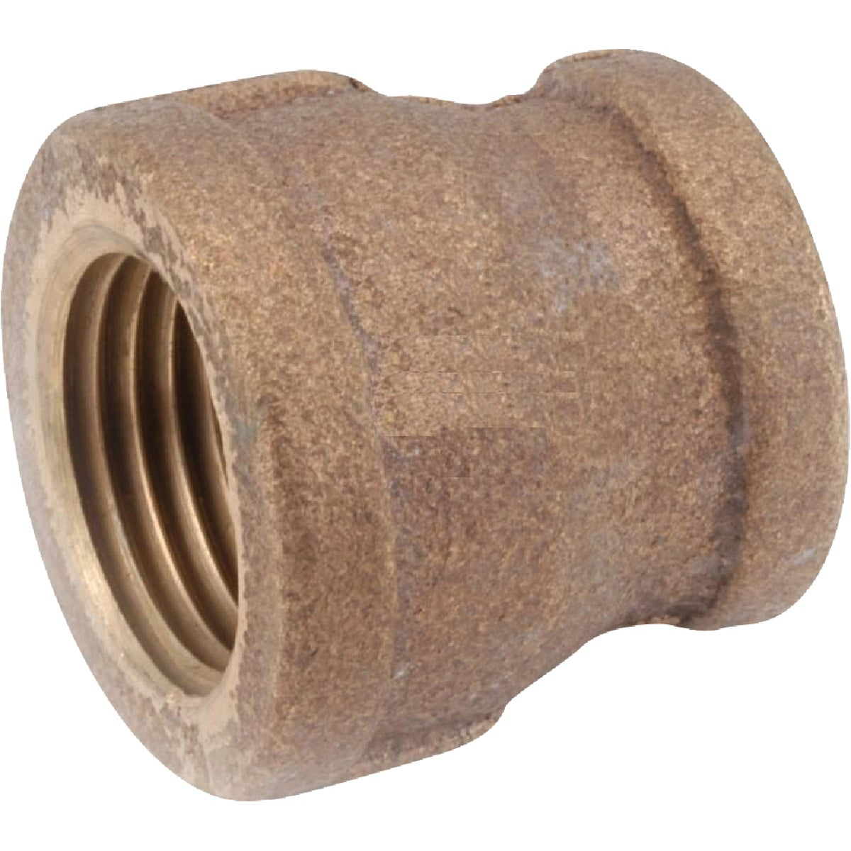 1/2X3/8 BRASS COUPLING - 738119-0806 by Anderson Metals Corp