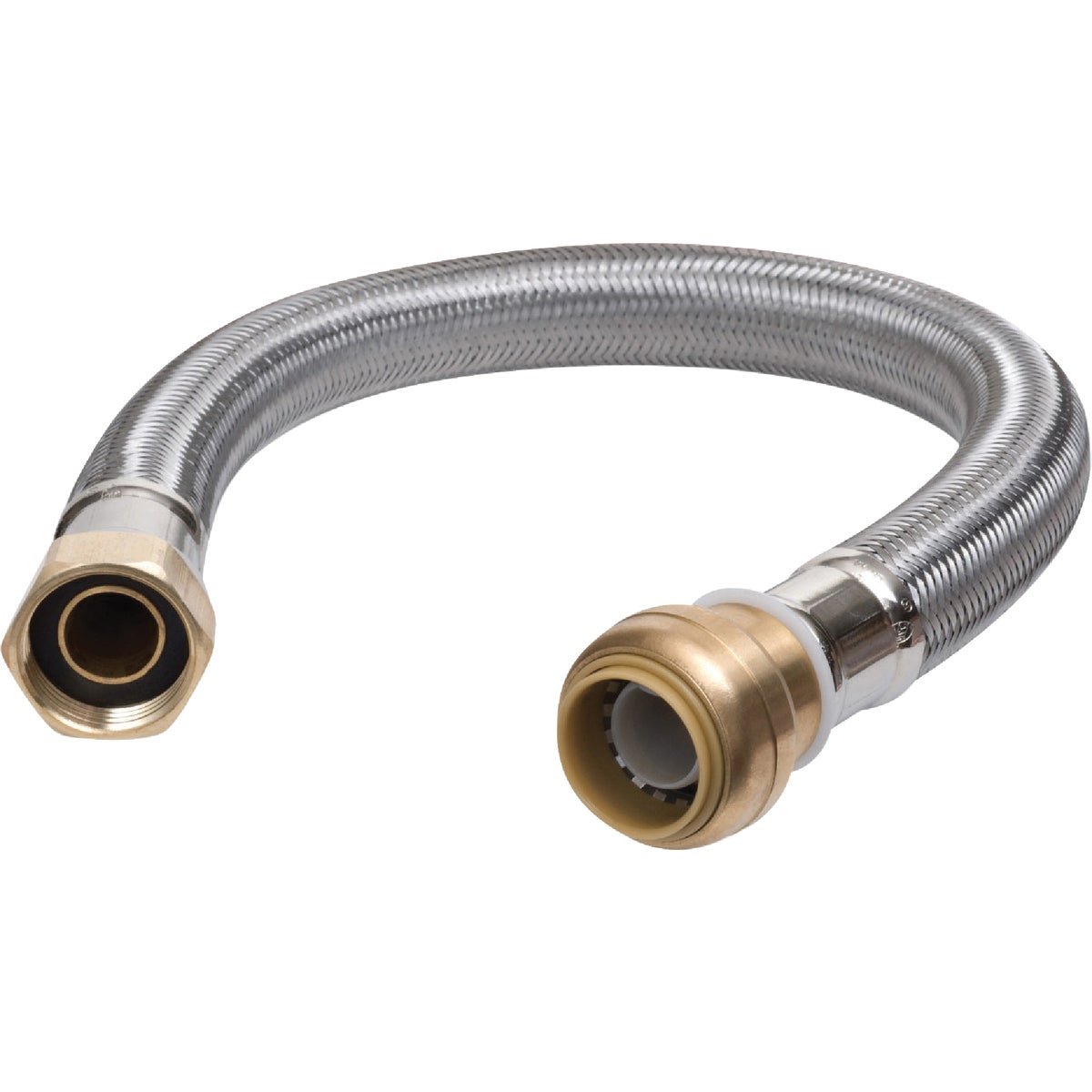 "18""SB WTR HTR CONNECTOR - U3088FLEX18LF by Cash Acme"