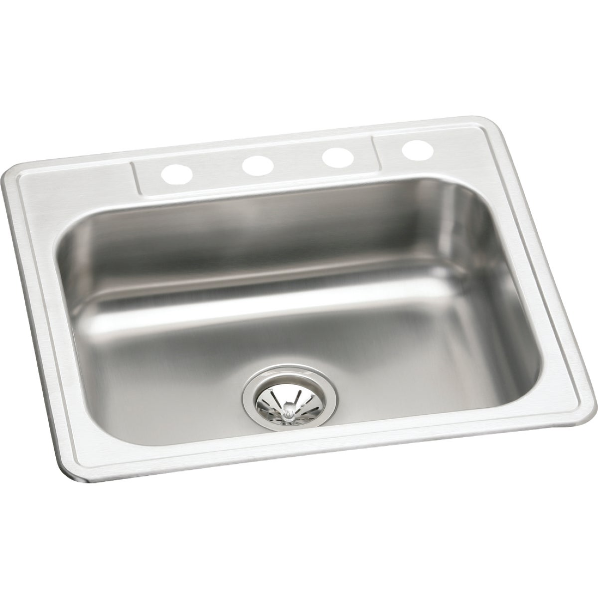 "7"" SS SINGLE-BOWL SINK"