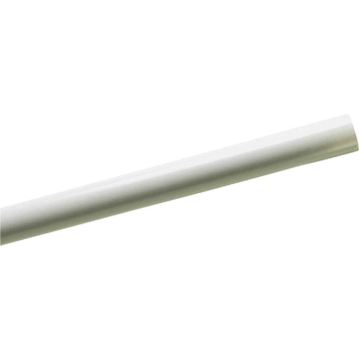 WHITE SHOWER ROD COVER - 600W by Zenith Prod Corp