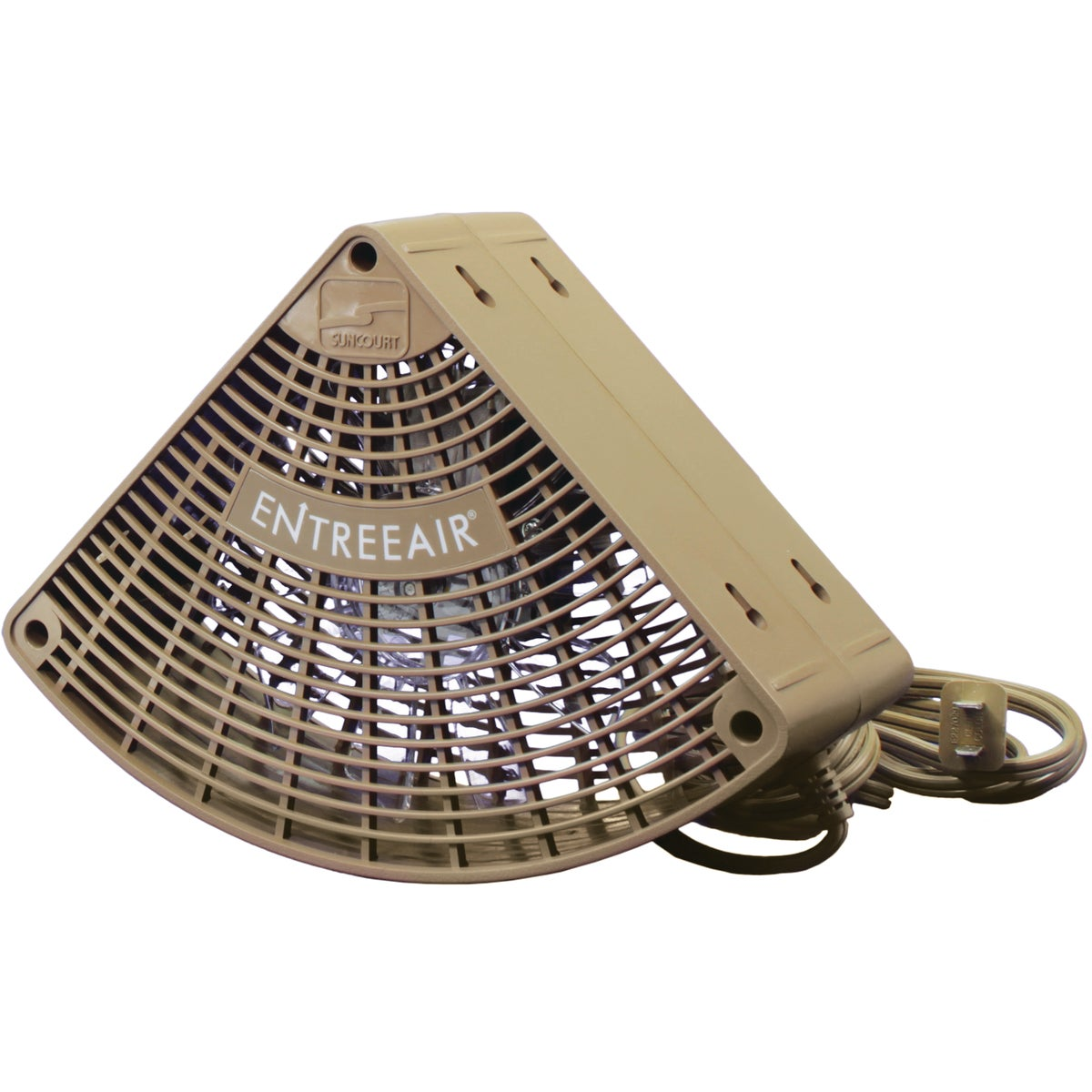 BROWN DOOR FRAME FAN - FANN-BR by Meeco Mfg