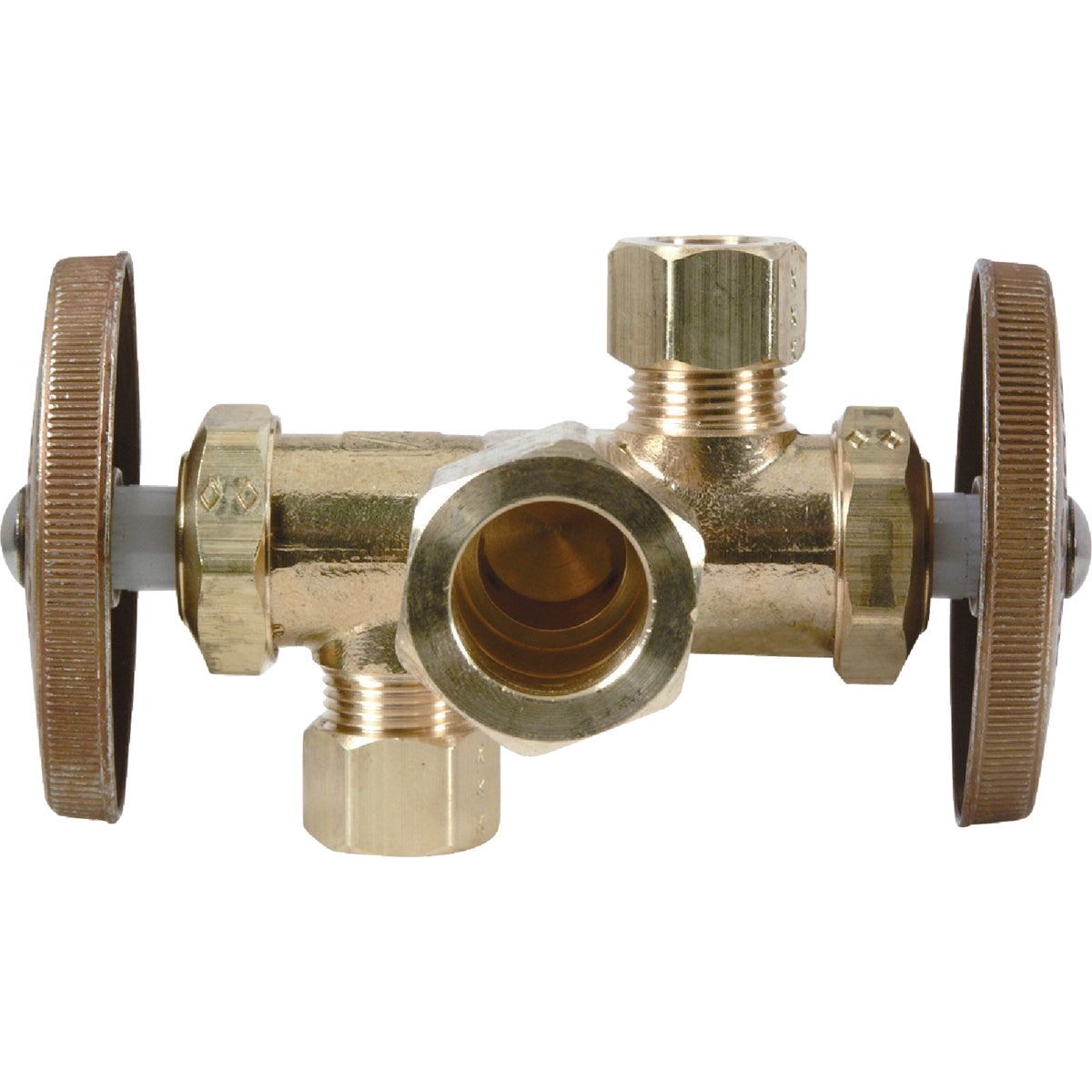 5/8CX3/8X1/4 DUAL VALVE - CR1900DVX R by Brass Craft