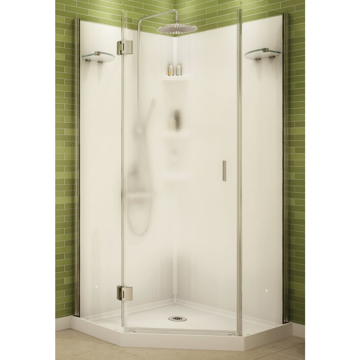 FRAMELESS NEO SHOWER - 105545-129 by Maax Bath