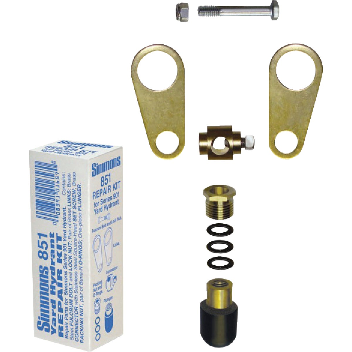 HYDRANT REPAIR KIT - 851 by Simmons Mfg Co