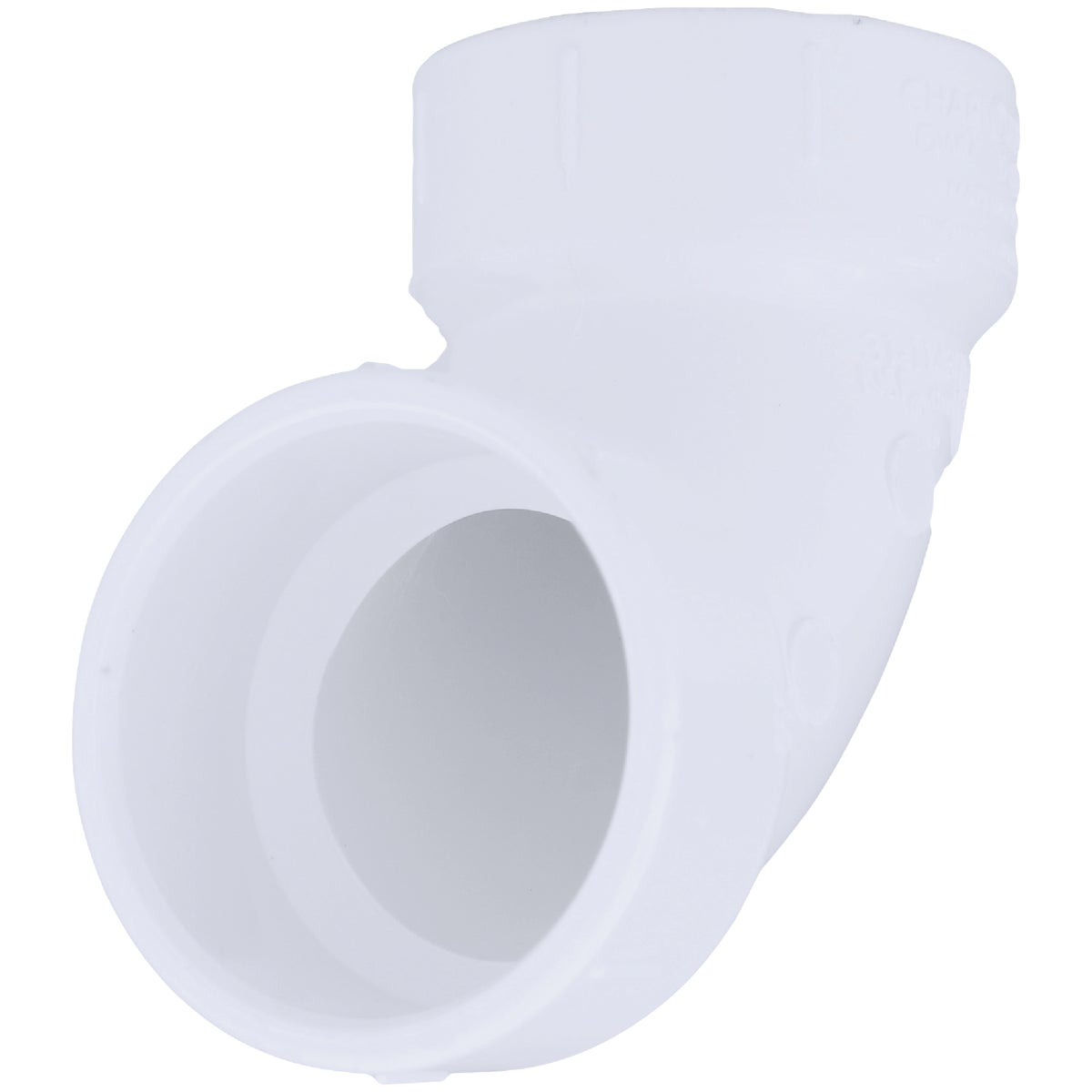 "1-1/4""90D DWV SANI ELBOW - 72814 by Genova Inc  Pvc Dwv"