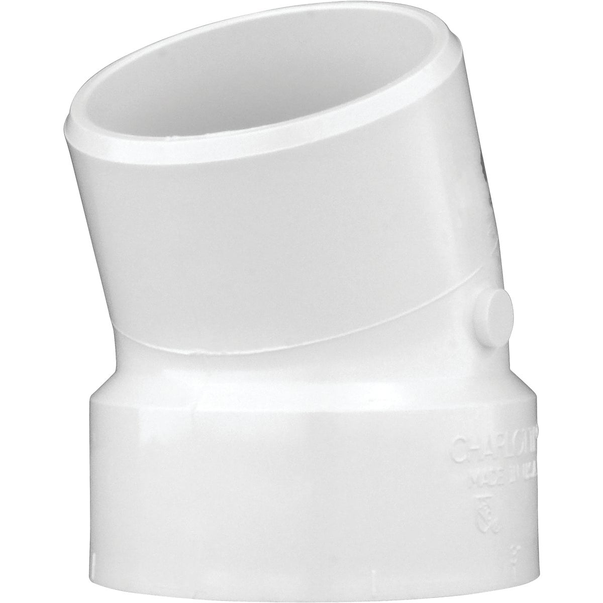 "3"" 22-1/2D STREET ELBOW - 75830 by Genova Inc  Pvc Dwv"