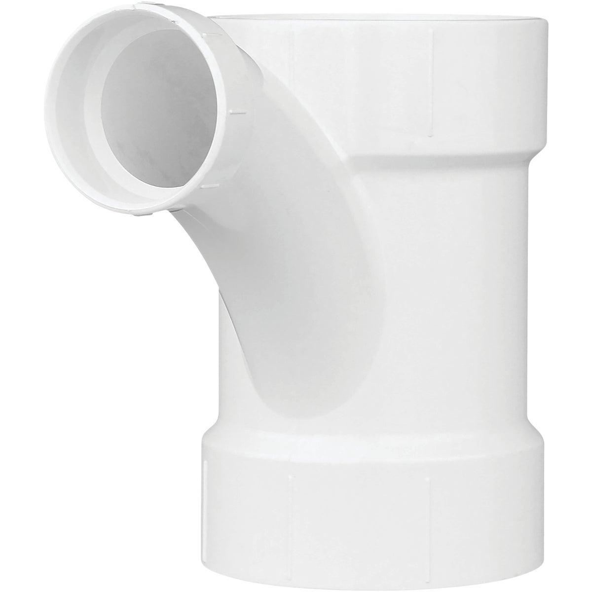 4X4X2 COMBO PVC TEE/WYE - 72542 by Genova Inc  Pvc Dwv